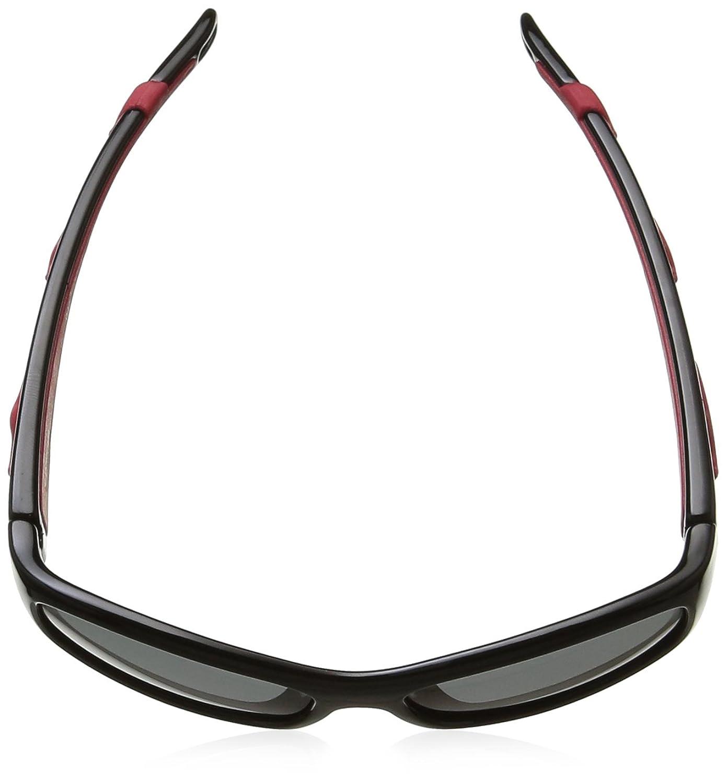 Polaroid Eyewear Unisex-Kinder P0403 Sonnenbrille, Schwarz (Nero Rosso), 47