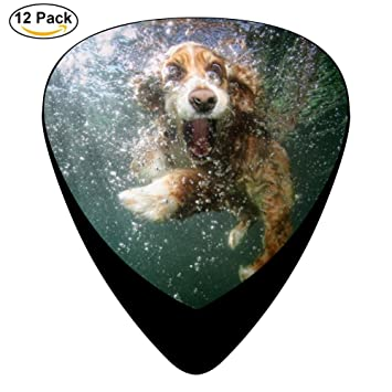 Dope Doggy Púas para guitarra (12 unidades, celuloide, 0,46 mm/