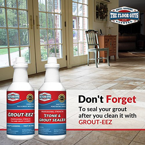 IT JUST Works! Grout-EEZ Super Heavy Duty Tile & Grout Cleaner and  brightener  Quickly Destroys Dirt & Grime  Safe for All Grout  Easy to Use   2 Pack