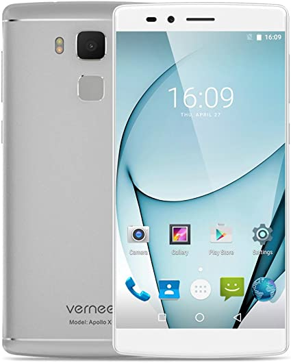 Vernee Apollo X 4G FDD-LTE Smartphone Huella dactilar Android 6.0 ...