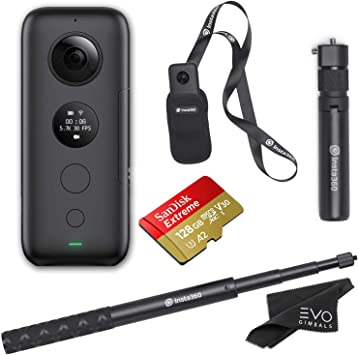 Amazon.com: Insta360 One X 360 - Juego de cámara con mango ...