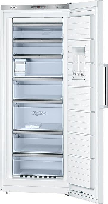 Bosch Serie 6 GSN54AW42 - Congelador (Vertical, 323 L, 22 kg/24h ...