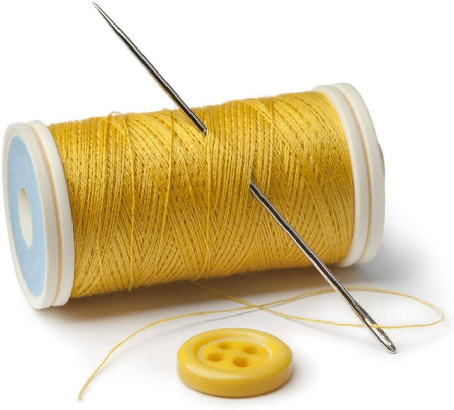 3.5 2.3 aguja de bordar de piel agujas de coser de acero inoxidable 4 3 20 Piezas Agujas de Coser a Mano Aguja de Coser de Ojo Grande