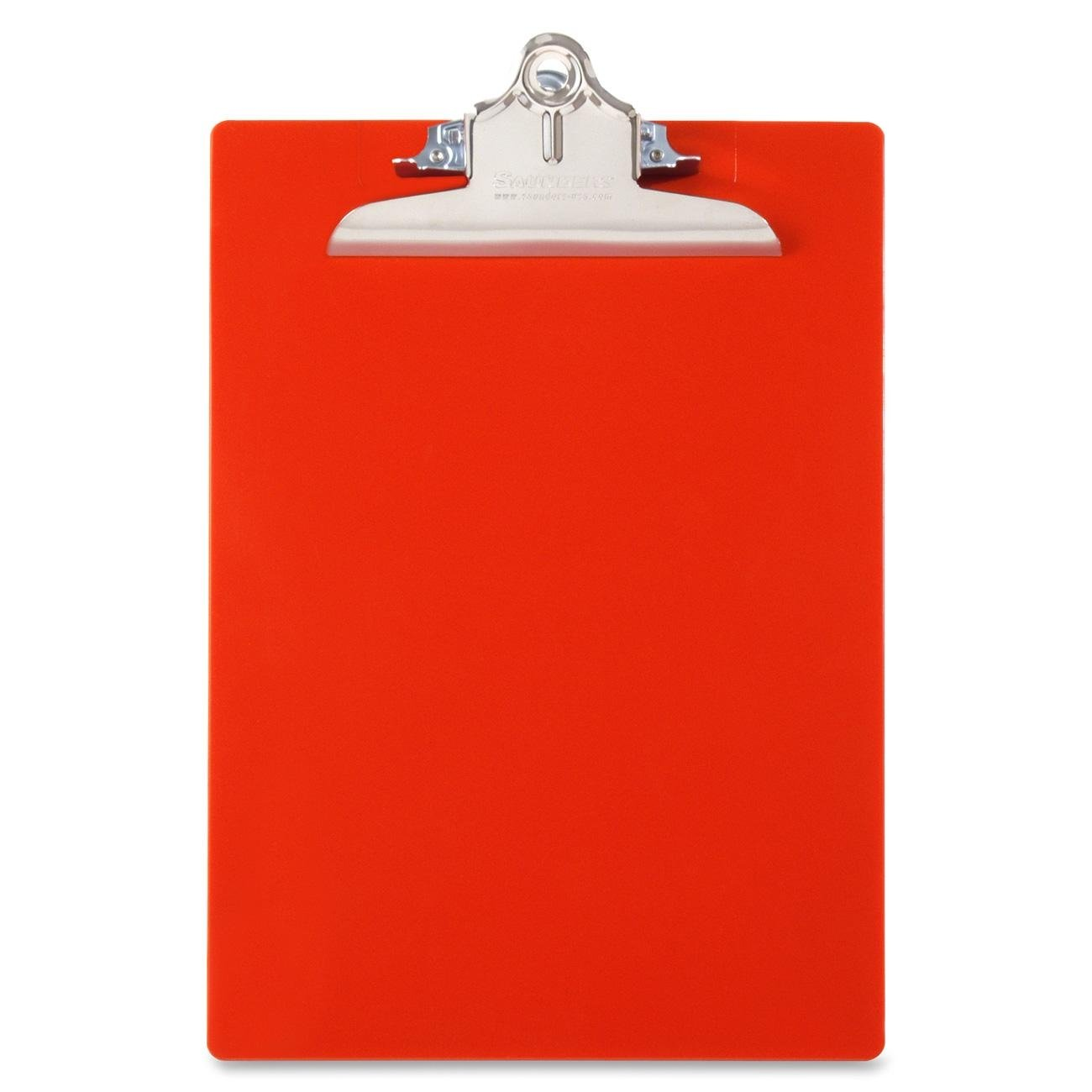 Saunders Recycled Plastic Clipboard with Antimicrobial Product Protection, Letter Size 8.5 x 12-Inch, Blue (21602)