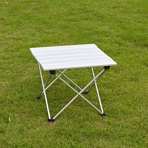 Chinatera Folding Outdoor Compact Table Aluminum Portable