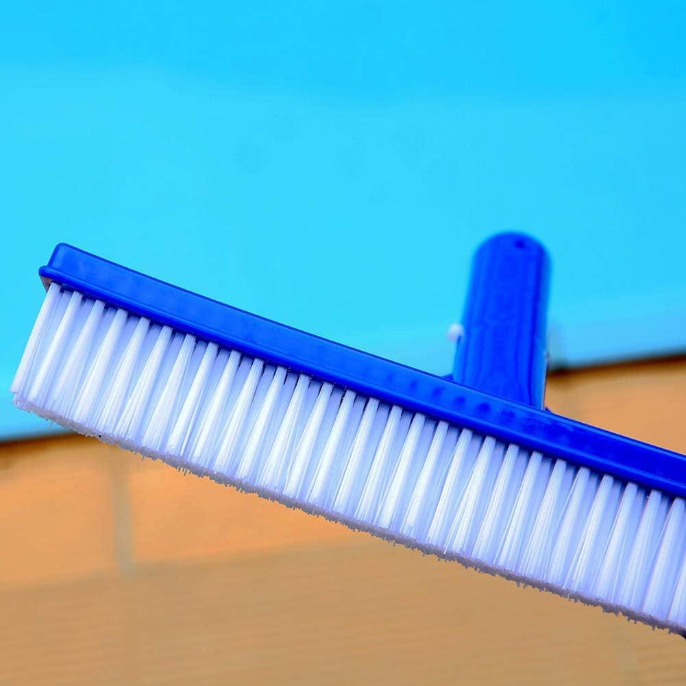 Floors Nylon Bristles Pool Cleaning Brush Head for Cleans Walls Tiles Taghua Swimming Pool Scrub Brush