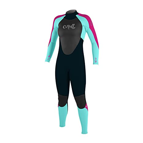 O;Neill Youth Kids Junior Girls Epic 3 / 2MM Volver Zip GBS ...
