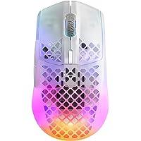 SteelSeries Aerox 3 Wireless Ghost (2022) - Super lekka mysz gamingowa - 68 g Wodoodporna konstrukcja - Żywotność…