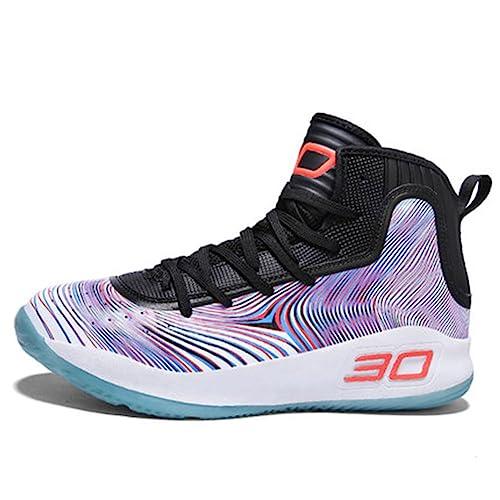 Amazon.com: Zapatillas de baloncesto transpirables y ...