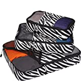 eBags Packing Cubes - 3pc Set (Zebra)