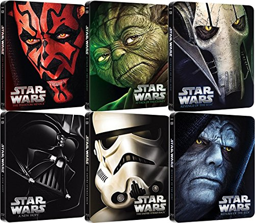 Star Wars: Episodes I - VI Complete Steelbook Collection Blu-Ray by 20th Century Fox
