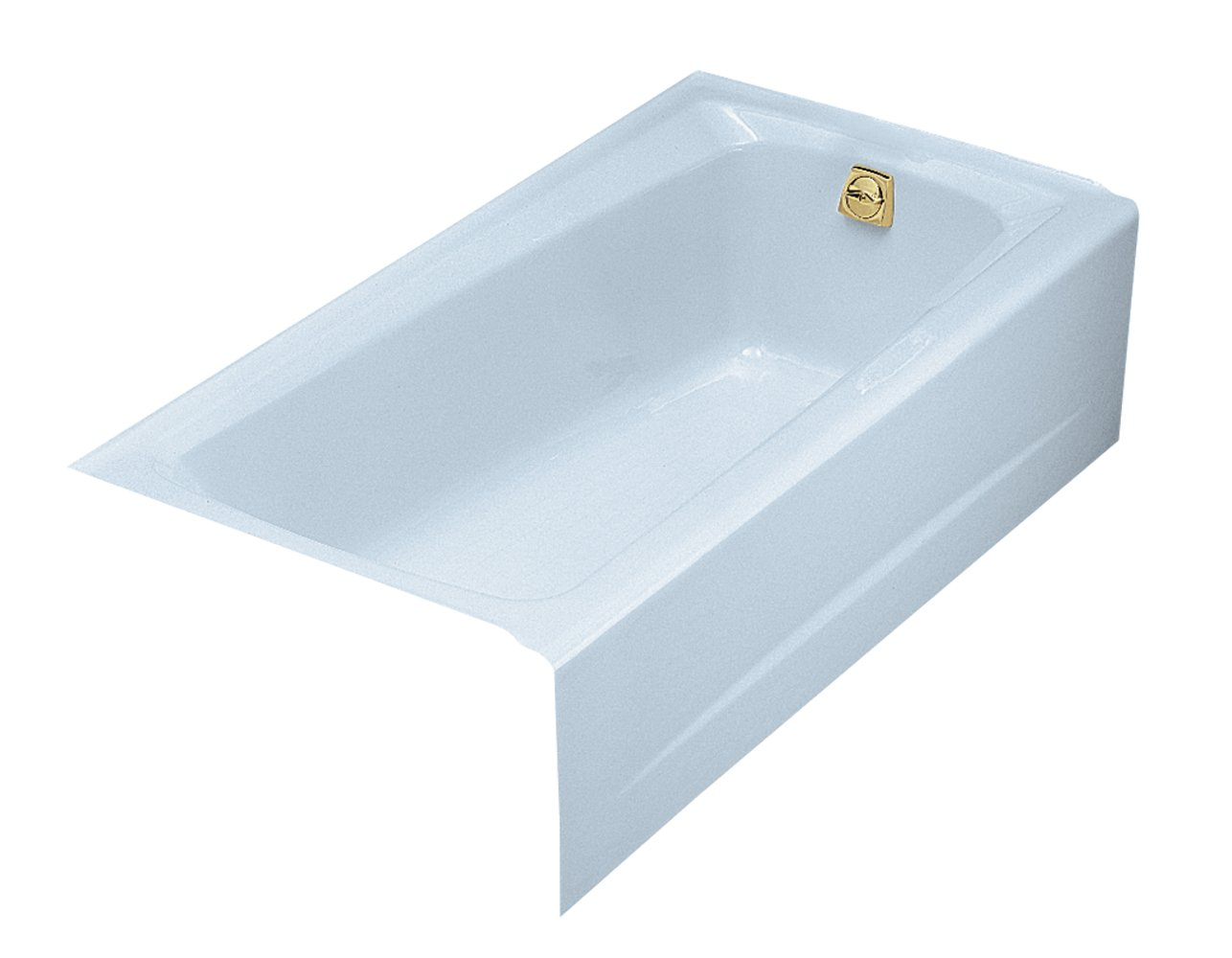 Kohler K-506-6 Mendota 5Ft Bath with Right-Hand Drain, Skylight ...