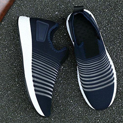 Primavera Traspiranti Blu da Scarpe Uomo Casual Uomo Scarpe Corsa Sneakers ASHOP Sportive Moda Scarpe Scarpe Sportive da di TBqxP0n0