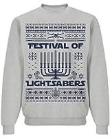 Force Awakens Hanukkah: Unisex Jerzees NuBlend Crewneck Sweatshirt