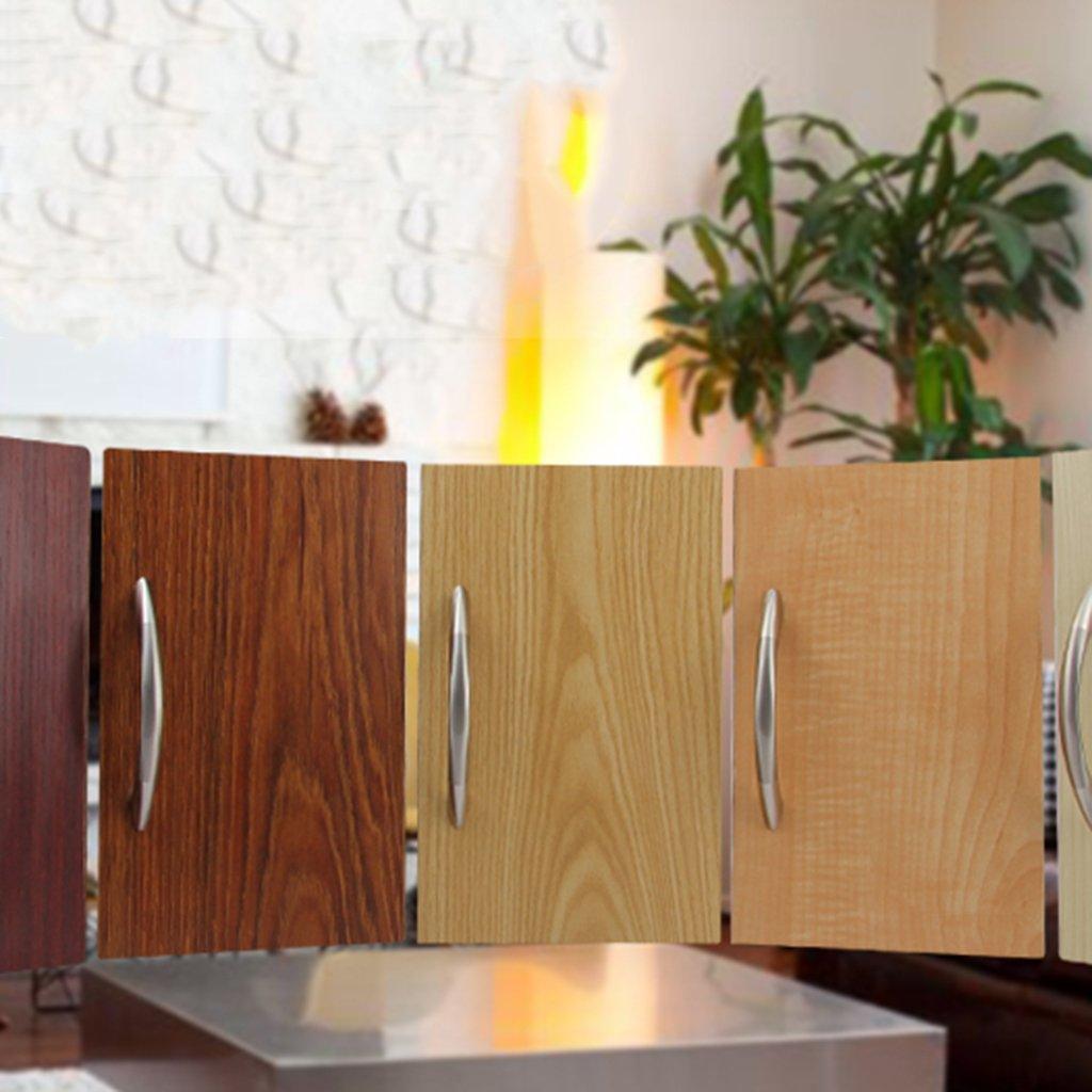 Plateado 3/tama/ños para la selecci/ón dise/ño sencillo y f/ácil de instalar manyo 1/pieza Acero inoxidable Tirador para muebles