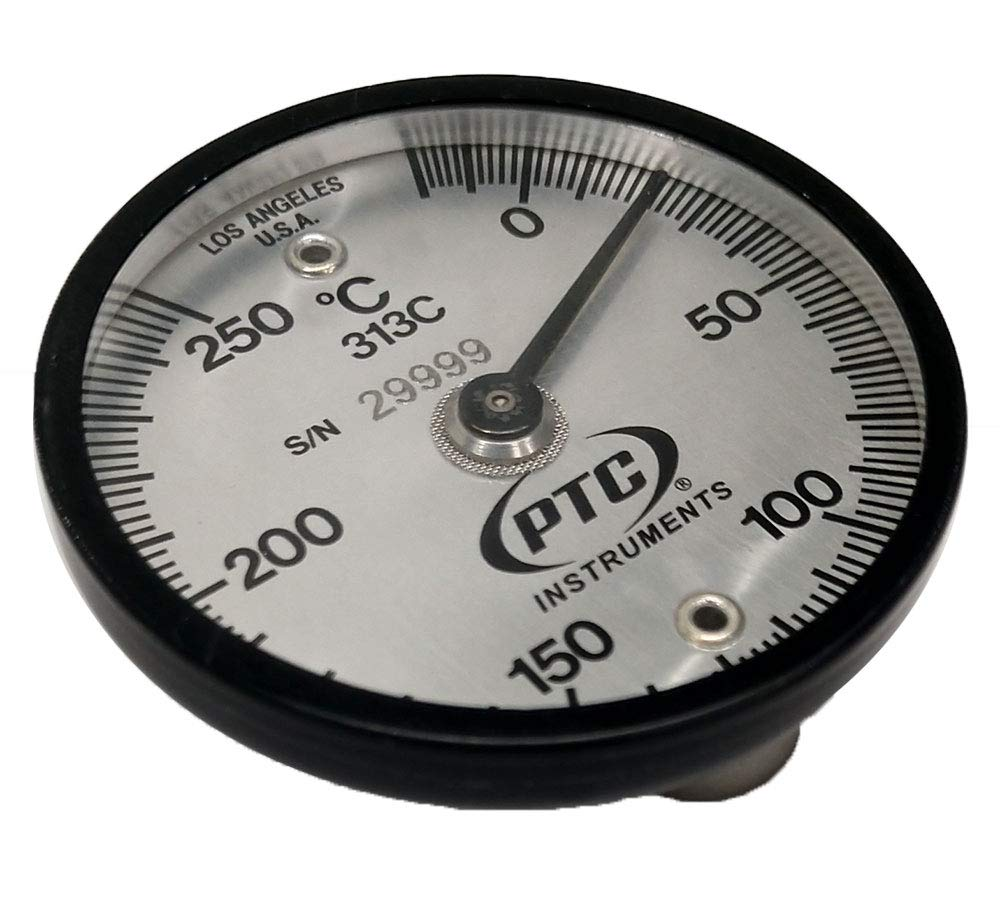 PTC 313C Magnetic Surface Thermometer -20° to 250°C by PTC Instruments