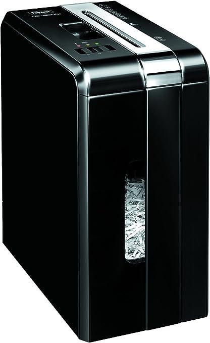 Fellowes DS-1200Cs - Destructora trituradora de papel, corte en partículas, 11 hojas, negro: Amazon.es: Oficina y papelería