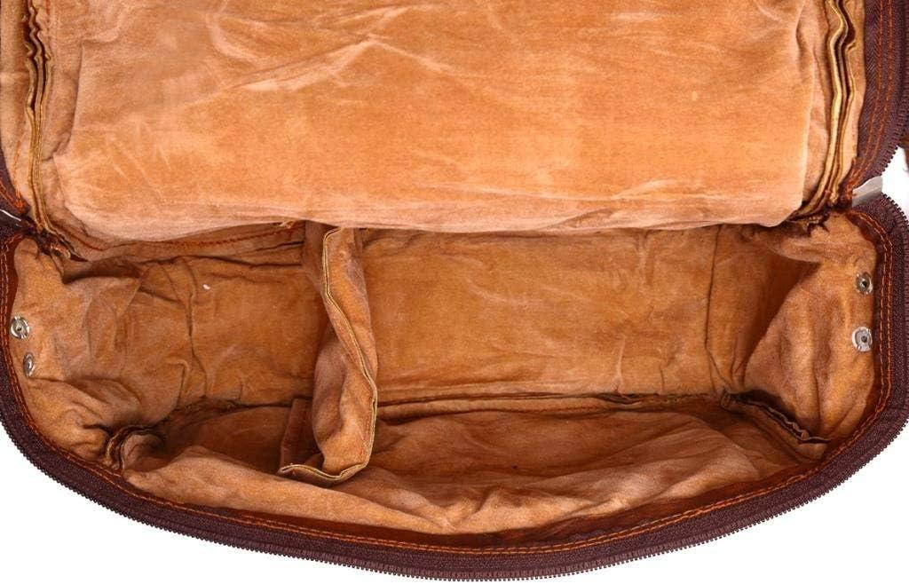 VPL Handmade Leather Vintage Camera Bag for Men