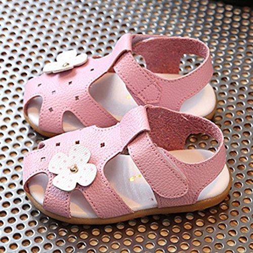 IGEMY Baby Mädchen Blume Casual Sandalen Kinder Mode Sneaker Kinder Schuhe Rosa