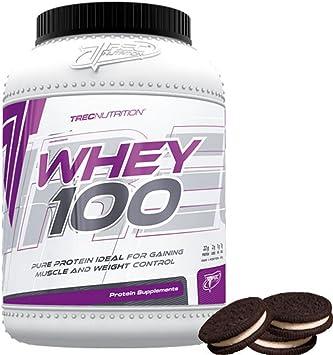 Trec Nutrition Whey 100 Protein Proteina Más Efectiva para ...