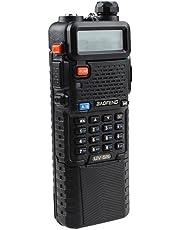 Baofeng UV-5R de banda dual UHF / VHF Radio Transceptor W / Upgrade Version 3800mah Bateria- incorporado la funcion VOX