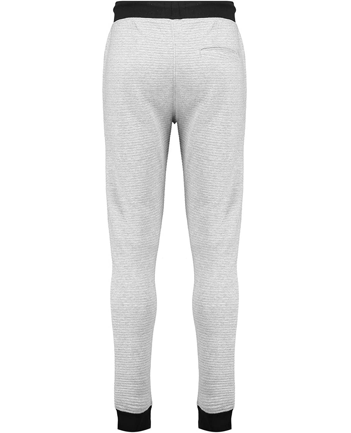 Twisted Soul Mens Marl Ottoman Cotton Mix Casual Sports Joggers Pants Trousers