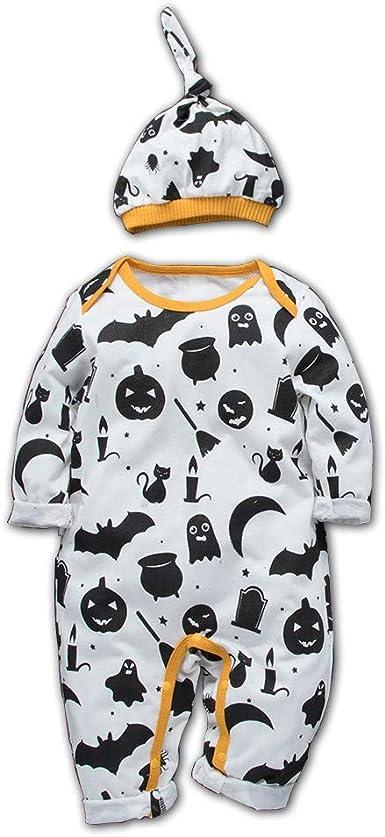 Divertido Pijama, K-Youth Pelele Bebe Niño Invierno Disfraz Halloween Diablo Bodies Bebe Manga Larga Mameluco Bebe Niña Recien Nacido Body Bebé Mono para Niños Peleles Bebés Niñas: Amazon.es: Ropa y accesorios