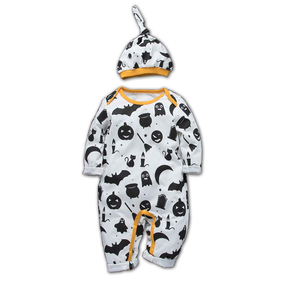 Yinshao Mono de Mameluco con Volantes para bebés recién Nacidos ...