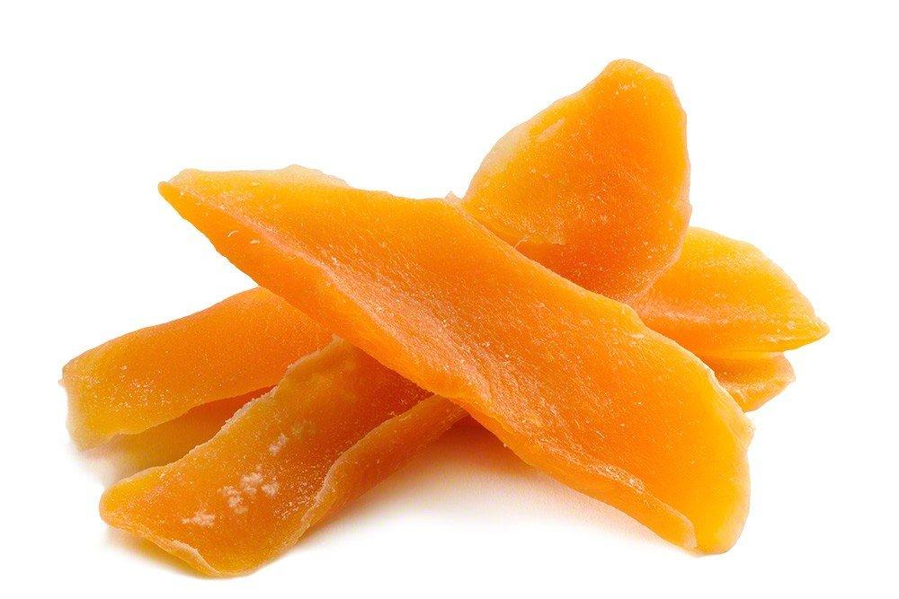 Low Sugar Dried Mango (1lb Bag)