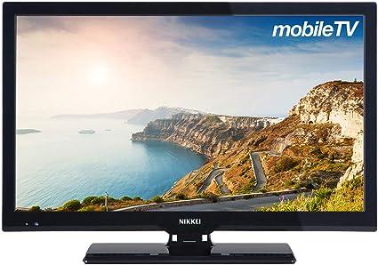 Nikkei televisor 22 pulgadas nl22mbk – mobile Full HD LED Television con 12 V Conexión | para vacaciones con Caravan o barco | Negro: Amazon.es: Electrónica