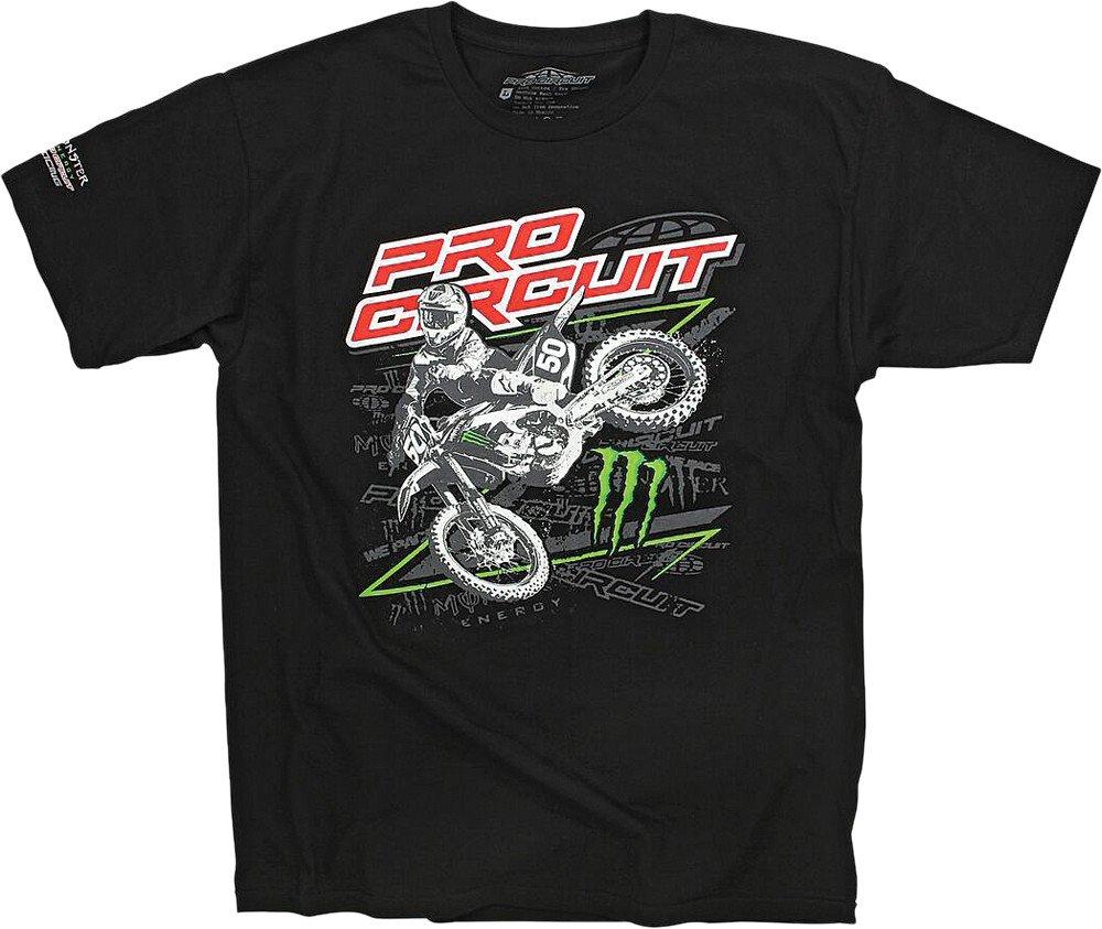 Pro Circuit 6411530-030 Sideways T-Shirt (Black, Large)