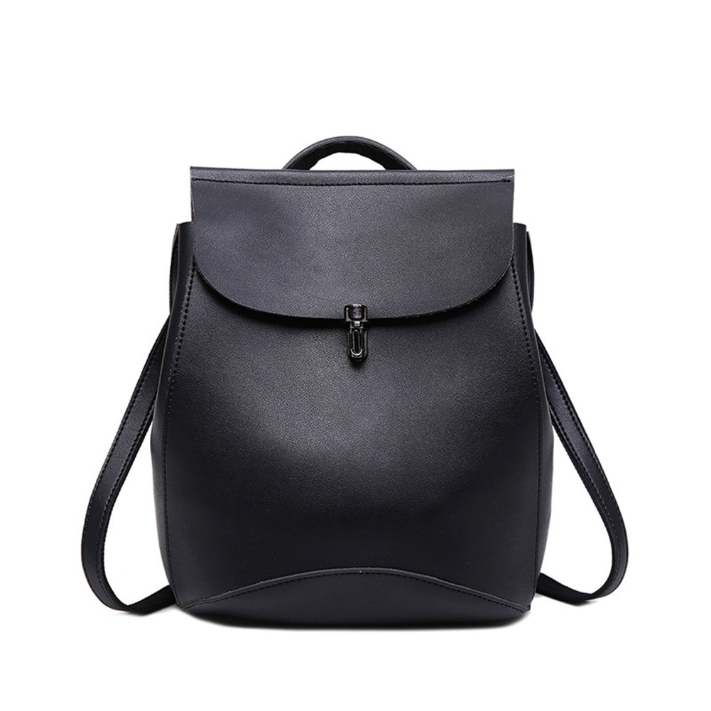 Amazon.com: ThinkMax Fashion Women Backpack Youth PU Leather School Shoulder Bag Teenage Girls Mochila Brown: Shoes