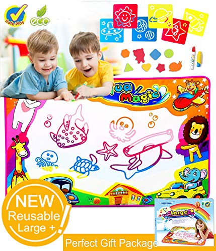 SupMLC Water Drawing Mat Doodle Mat Writing Boa...