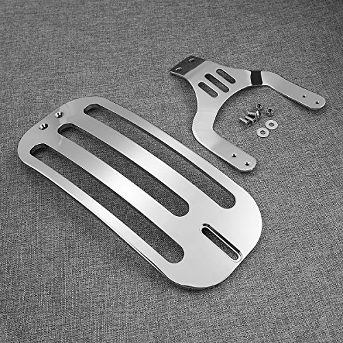 Amazon.com: XMT-MOTO Solo Luggage Rack Chrome For Indian Chief Vintage/Classic 2014-2016 2018,Chieftain Dark Horse 2016-2018,Chieftain 2014-2016 2018 ...