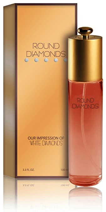 Round Diamonds Perfume - Our Impression of White Diamonds: Size 3.3 Ounce