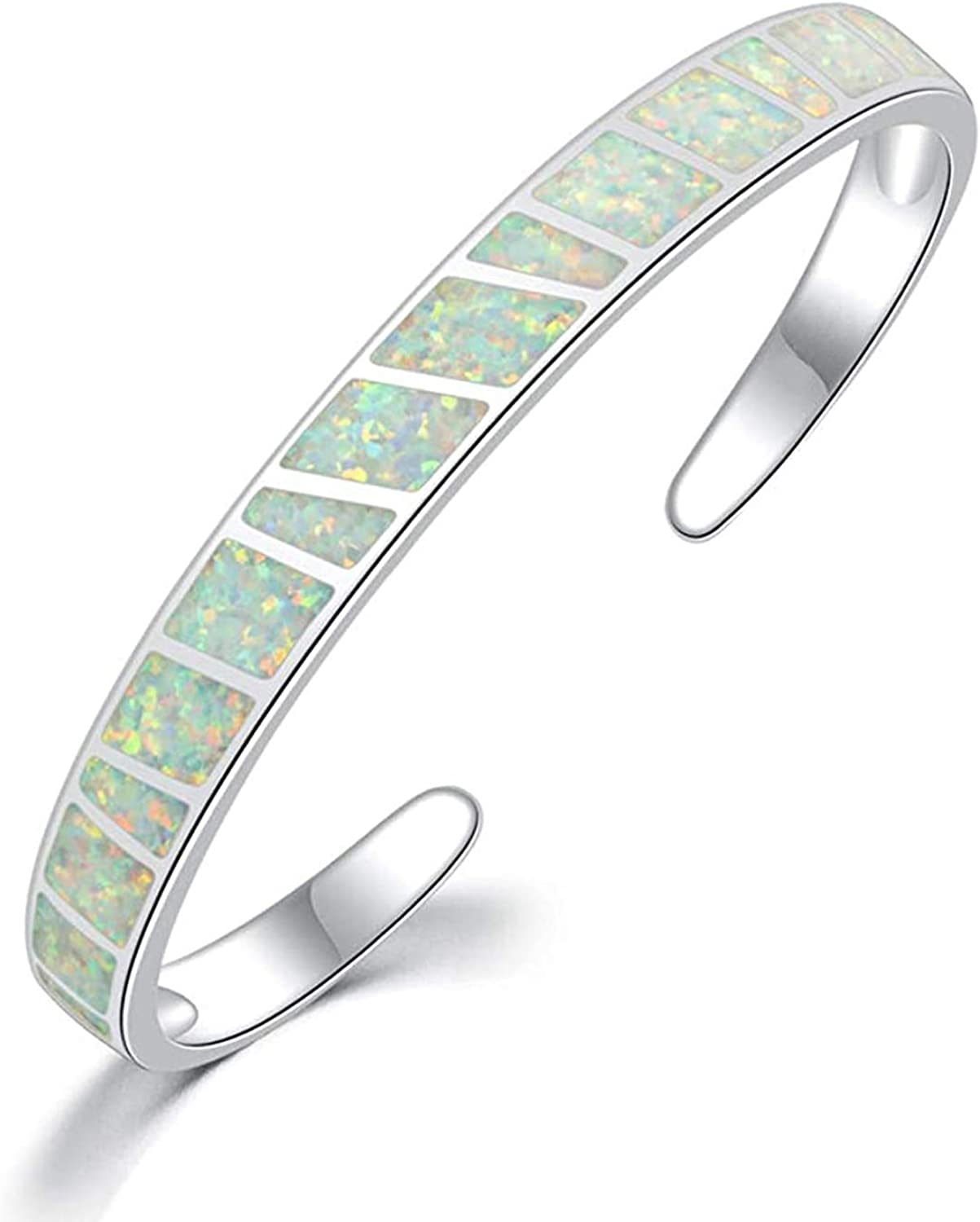 stones design,opens and one size fit. Georgeous cuff bracelet with black metal