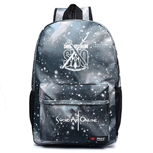 94f48a3dc0d6 Amazon.com   Anime Sword Art Online SAO Cosplay Bag Backpack School ...
