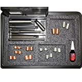 M14x1.25 spark plug thread repair Kit with Assorted length inserts p/n 4490 Time-Sert