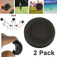 HUHUDAY Mini Frisbee, Zipchip Frisbee Mini Pocket Spin