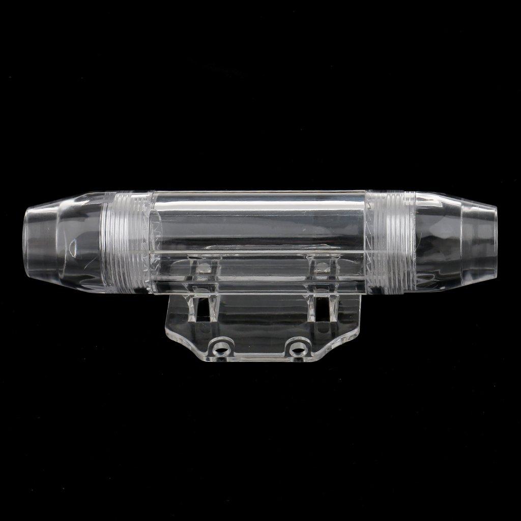 MagiDeal 1 Pezzo Inline Nichel Portafusibile ANL 0,4 Gauge con 1pz Fusibile da 150 Amp