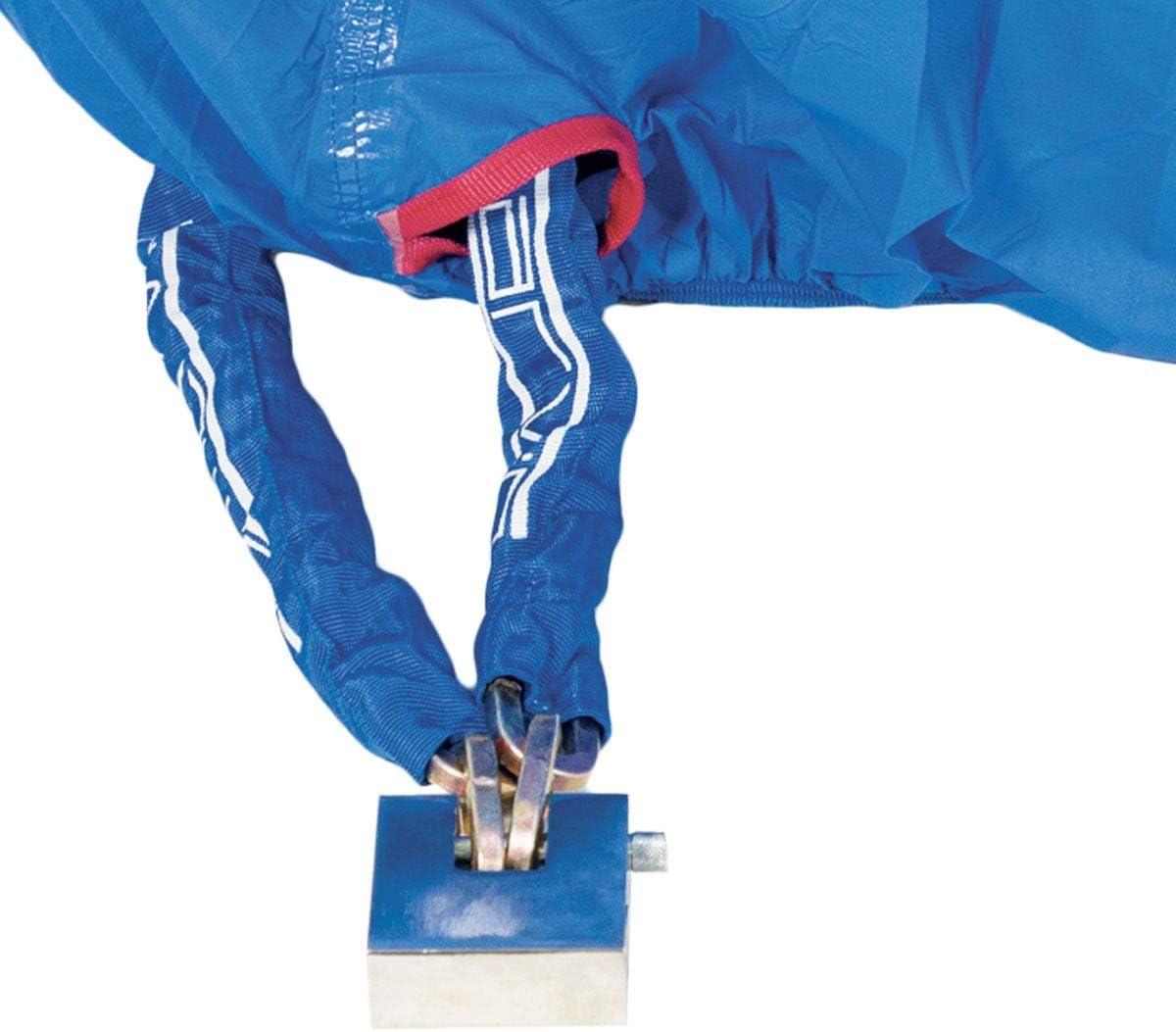 TJ MARVIN COPRIMOTO COPRISCOOTER telo impermeabile con fodera antigraffio e protezioni ignifughe FIRE C13 246-104-127 cm Blu,