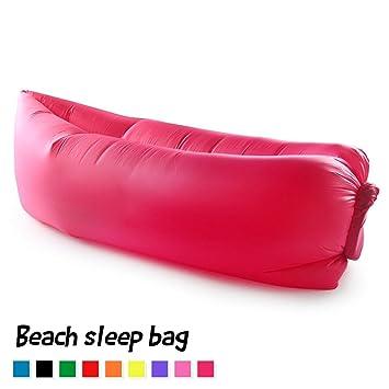 fundoris® 10 segundos rápido inflable Camping playa sofá dormir Lazy silla bolsa Hangout aire dormir