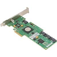 LSI SAS3041E-HP 4-poorts SAS-kaart, LSISAS1064E-chip 4-kanaals controller voor RAID, array-kaart met SFF-8484-connector…