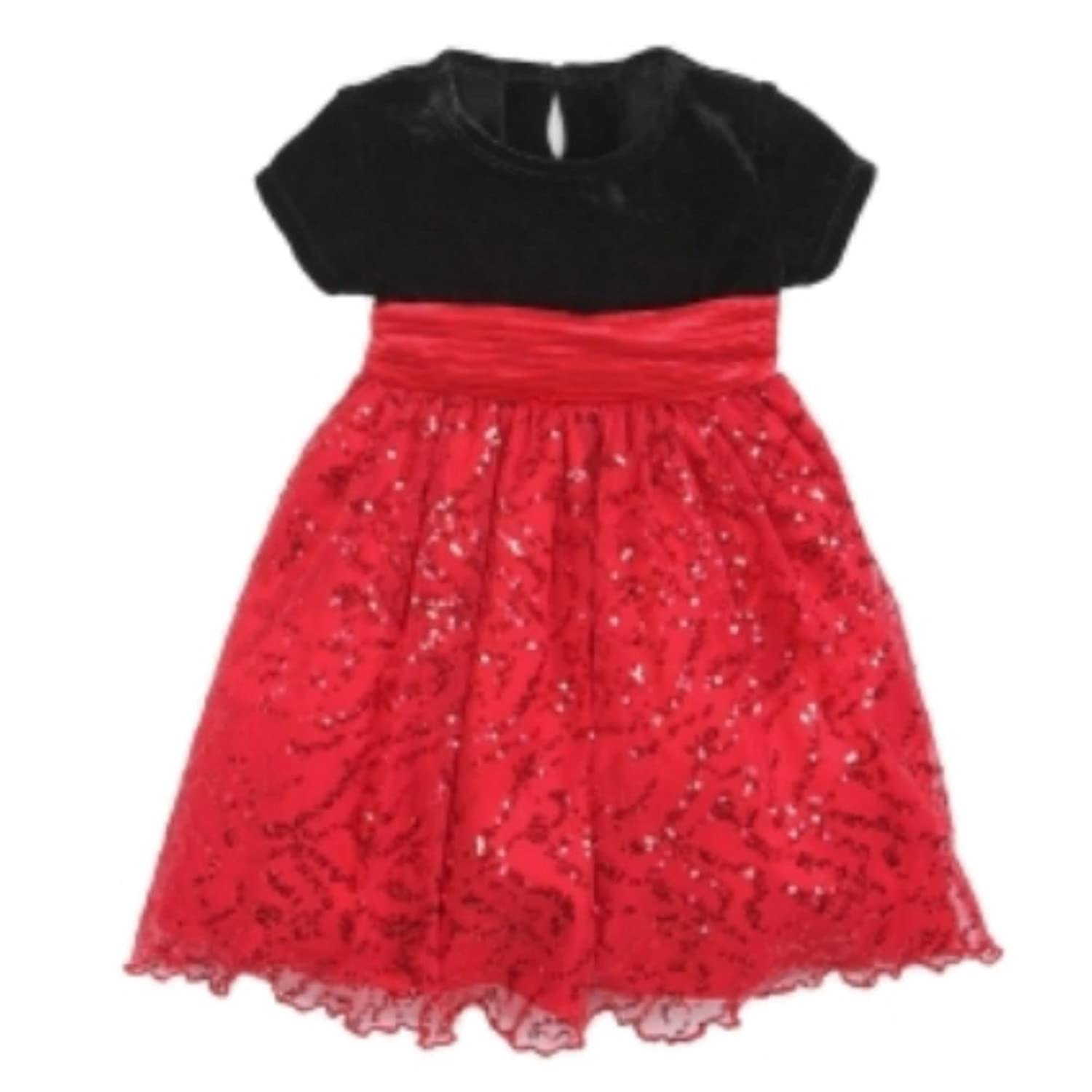 Amazon Blueberi Infant Toddler Girl Sparkly Red Sequin Party