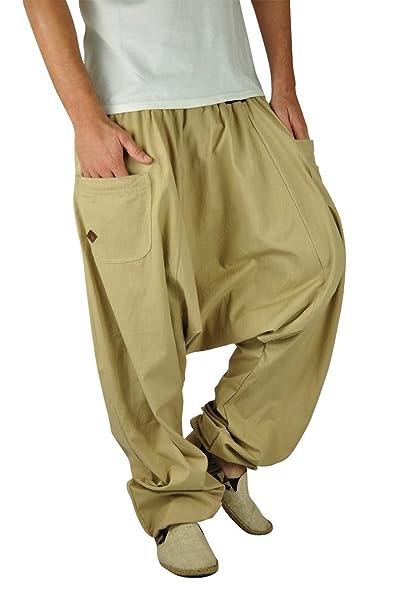 virblatt Modello Reversibile Pantaloni Cavallo Basso Stile Harem Taglia Unica Veste Le Taglie S – L Pantaloni Invernali Larghi Come Abbigliamento