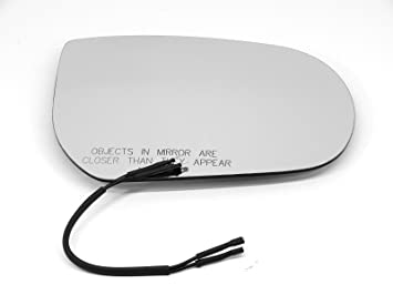 JEEP CHEROKEE SPORT 01-07 WING MIRROR GLASS RIGHT CONVEX HEATED BACKING PLATE