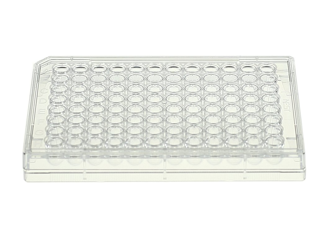 Nest Scientific 701111 Polystyrene 96 Well Cell Culture Plate, U-Bottom, Non-Treated, Sterile, 1 per Pack, 100 per Case (Pack of 100)
