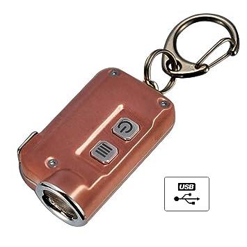Nitecore TINI - Llavero (recargable por USB, 380 lm ...
