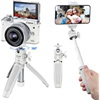 ULANZI Extension Pole Tripod, Mini Selfie Stick Tripod Stand Handle Grip for iPhone 11 Pro Max Samsung OnePlus Google…