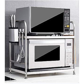 HJSS Estante de la Cocina del hogar Horno de microondas de ...